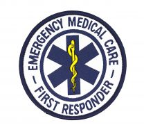 Parche Termoadhesivo  Emergency Medical Care First Responder 9cm