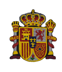 Parche Termoadhesivo Escudo Estado Español 7x6cm