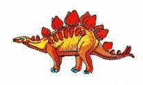 Parche Termoadhesivo Estegosaurio 9,5x5cm