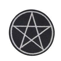 Parche Termoadhesivo Estrella Cinco Puntas 6 cm