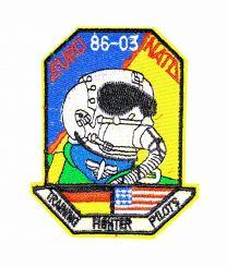 Parche Termoadhesivo Euro 86-03 NATO 9,5x6,5 cm