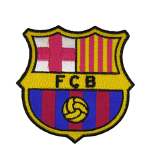 Parche Termoadhesivo F.C.Barcelona 7x7cm