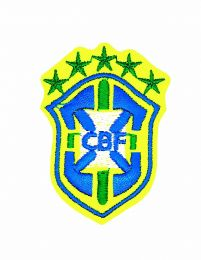 Parche Termoadhesivo Fed brasileña fut 6x4cm