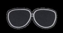 Parche Termoadhesivo Gafas de Sol 8x3,5cm
