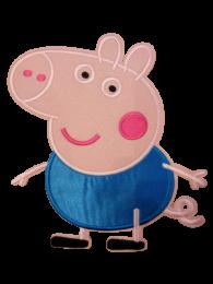 Parche Termoadhesivo Gigante Pepa Pig George 20x18cm