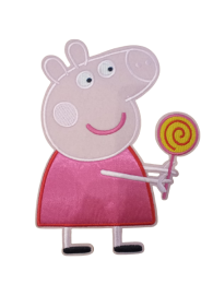 Parche Termoadhesivo Gigante Peppa Pig Piruleta 21x16cm