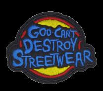 Parche Termoadhesivo Goo-Can't Destroy Streetwear 8x6,5 cm
