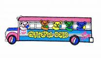Parche Termoadhesivo Grateful Dead on tour 15x4,5cm