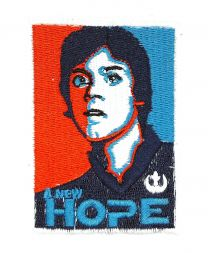 Parche Termoadhesivo Luke Skywalker Star Wars 9 x 6,5cm