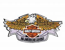 Parche Termoadhesivo HD Aguila Legend 11x6cm