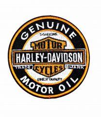 Parche Termoadhesivo HD Motor oil 7,5x7,5cm