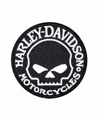 Parche Termoadhesivo HD Motorcycles 6x6cm
