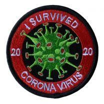 Parche Termoadhesivo I Survived Coronavirus 2020 8cm