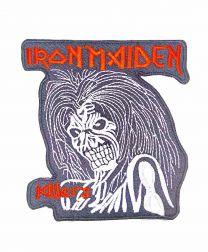 Parche Termoadhesivo Iron Maiden Killers 10x9cm