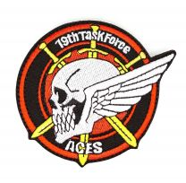 Parche Bordado Japan Air Self-Defense Force 19th Task Force ACES 8cm