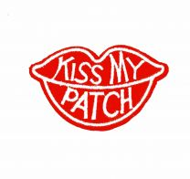 Parche Termoadhesivo Kiss my patch  7x4 cm