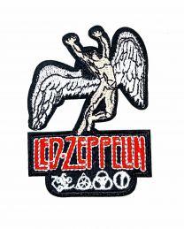 Parche Termoadhesivo Led Zeppelin color 8x5,5cm