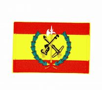 Parche Termoadhesivo Legión bandera española 8,5x5,5cm