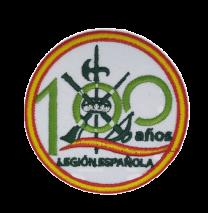 Parche Termoadhesivo Legion Española 100 años 7,3cm