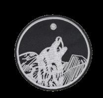 Parche Termoadhesivo Lobo Aullando 7 cm
