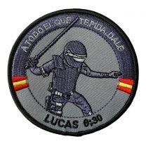 Parche Termoadhesivo Lucas 6;30 Policia 8,5cm