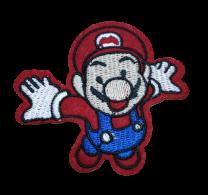 Parche Termoadhesivo Mario Bros 7x6,5cm
