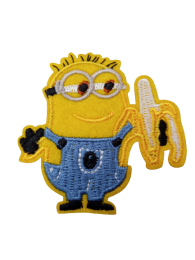 Parche Termoadhesivo Minions Bob Banana 6x6cm