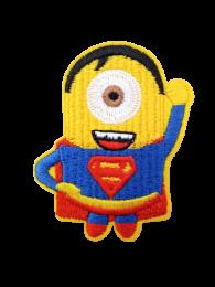 Parche Termoadhesivo Minions Stuart Superman 7x5cm