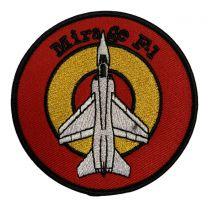 Parche Termoadhesivo Mirage F-1 Escarapela Española 8cm