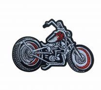 Parche Termoadhesivo Moto Chooper 11x6,5cm