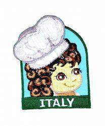 Parche Termoadhesivo Muñeca italiana 6x5,5 cm