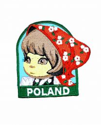Parche Termoadhesivo Muñeca polaca 6x5,5 cm
