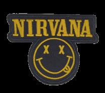 Parche Termoadhesivo Nirvana face 9x7,5cm