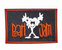 Parche Termoadhesivo Pearl Jam red 10x6,5cm
