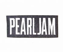 Parche Termoadhesivo Pearl Jam white 12x5cm