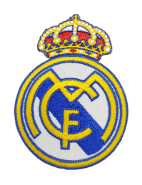 Parche Termoadhesivo Real Madrid 6,5x5cm