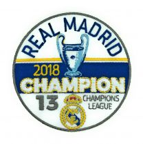 Parche Termoadhesivo Real Madrid Campeones Champions League 2018 9cm