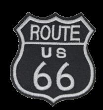 Parche Termoadhesivo Route 66 8x7 cm