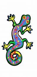 Parche Termoadhesivo Salamandra colorida 8,5x5 cm