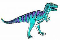Parche Termoadhesivo T-Rex 10x4,5cm