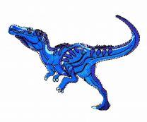 Parche Termoadhesivo T-Rex 10x7cm