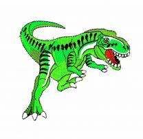 Parche Termoadhesivo T-Rex Verde 10,5x9cm
