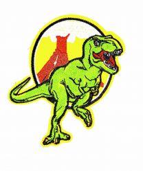 Parche Termoadhesivo T-Rex Verde 10x9cm