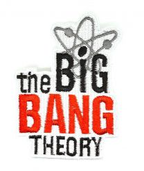 Parche Termoadhesivo The Big Bang Theory 10cm