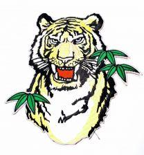 Parche Termoadhesivo Tigre 20x20cm