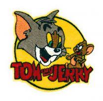 Parche Termoadhesivo Tom y Jerry 8cm