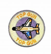 Parche Termoadhesivo Top gun avión 8cm