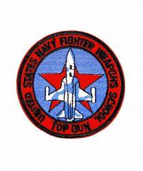 Parche Termoadhesivo Top Gun weapons school 7,5cm