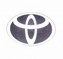 Parche Termoadhesivo Toyota 8,5x5,5cm