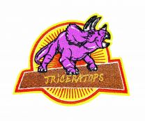 Parche Termoadhesivo Triceratops 9,5x7cm